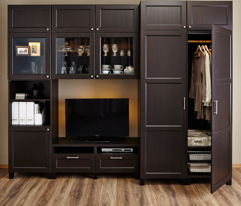 Не смотря на широкий ассортимент кухонной мебели от икеа, ее можно условно разделить на четыре