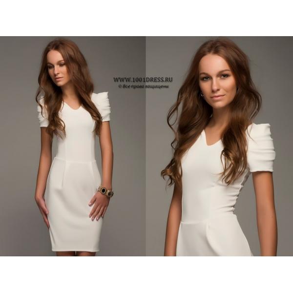Красивые платья с рукавами в
