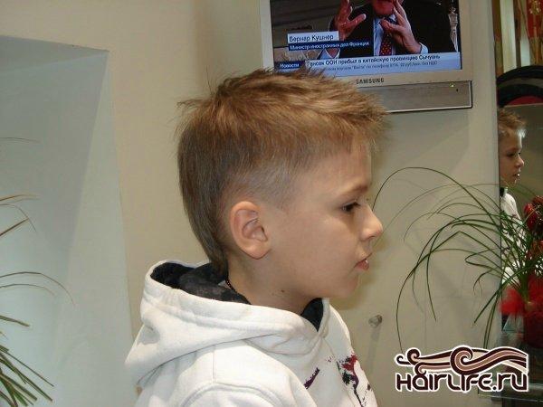 Стрижки с для мальчиков 4-5 лет